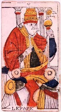 carte du pape