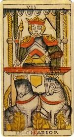 carte du chariot