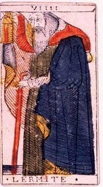 carte de l'hermite