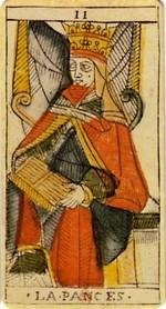 carte de la papesse