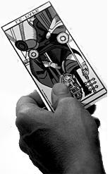 tirage d'une carte du tarot