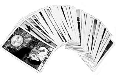 paquet de carte du tarot