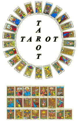 carte tirées du tarot